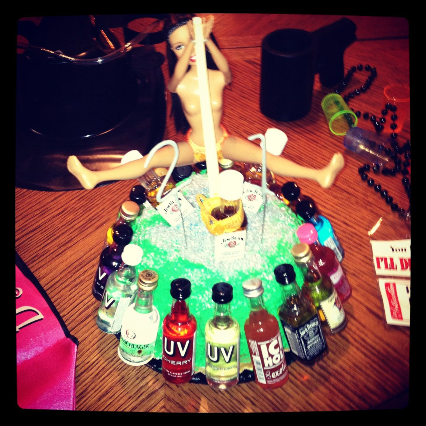 St Birthday Cake For A Guy Friend Shots And A Stripper - Birthday cake for a guy