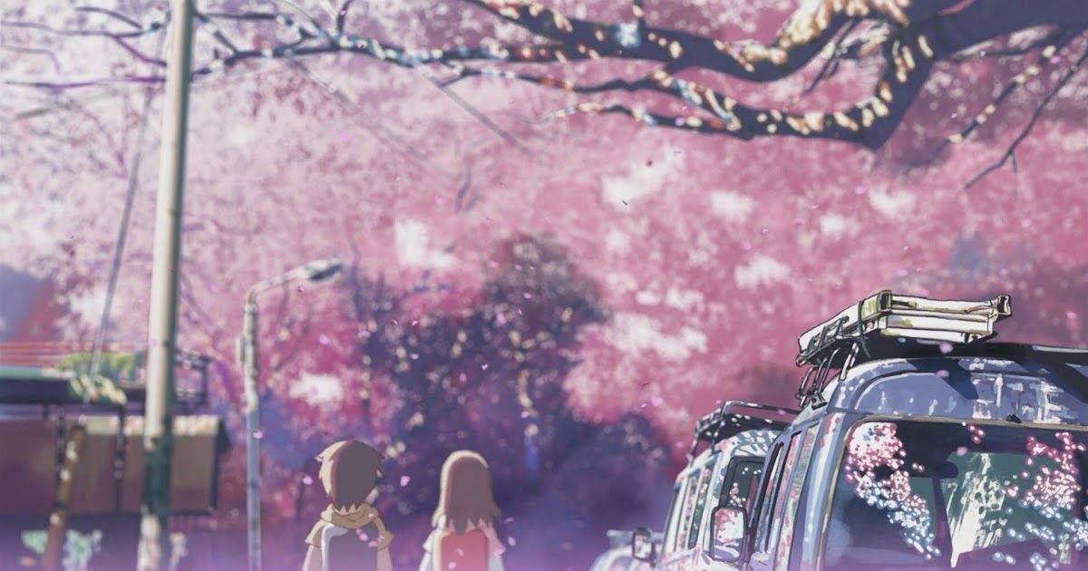 5 centimeters per second is a japanese animated film of