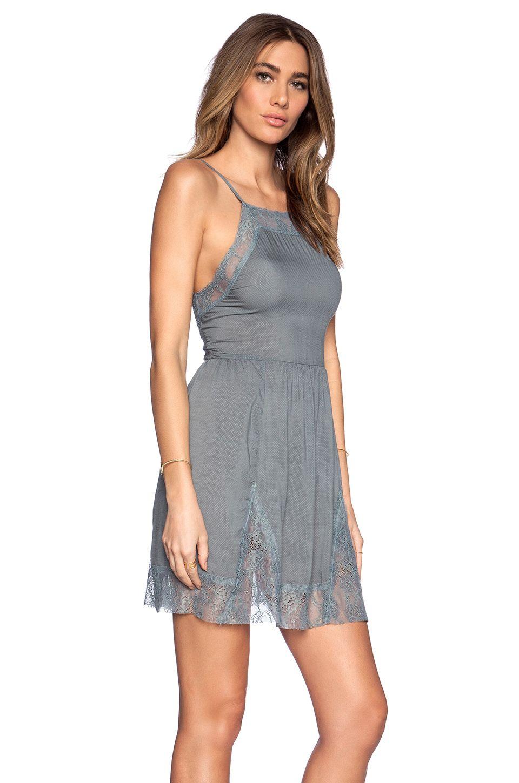 a0bdbef10aaa Free People Lace Insert Swing Slip Dress in Vapor Blue   REVOLVE ...