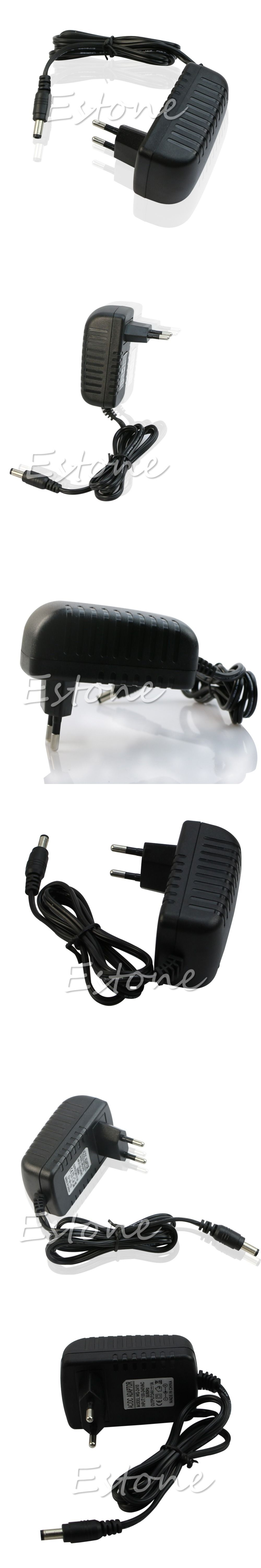 C18 2015 Newest Hot Eu Plug Ac 110v 220v Converter Dc 24v 1a 100 240v To 9v Switching Power Supply Adapter Server
