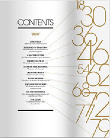 It 39 s what 39 s inside that counts creative table of contents for Table layout design