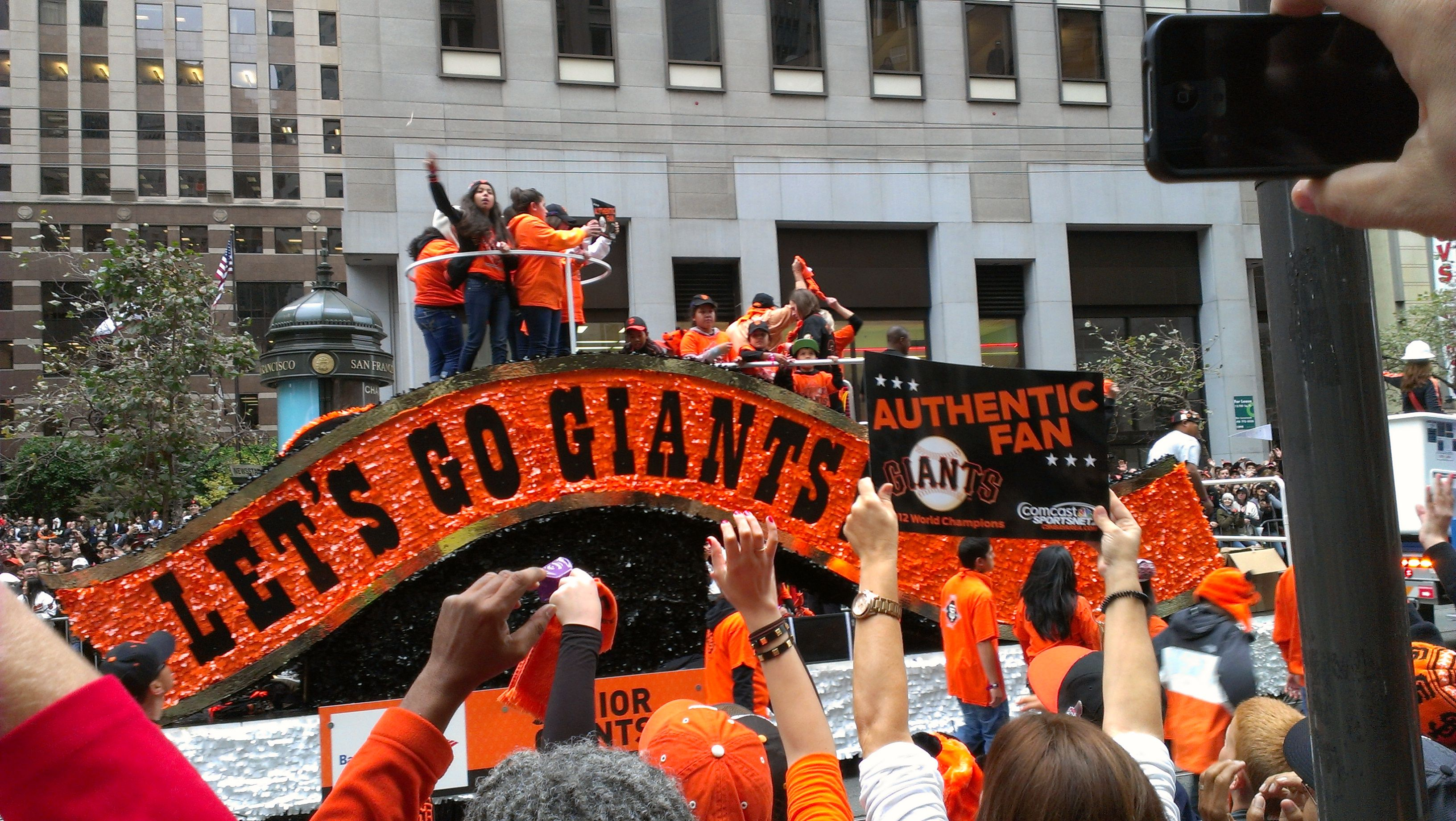 The most diverse city is celebrating a 2nd #WorldSeries win in 3 yrs! GO #SFGiants!