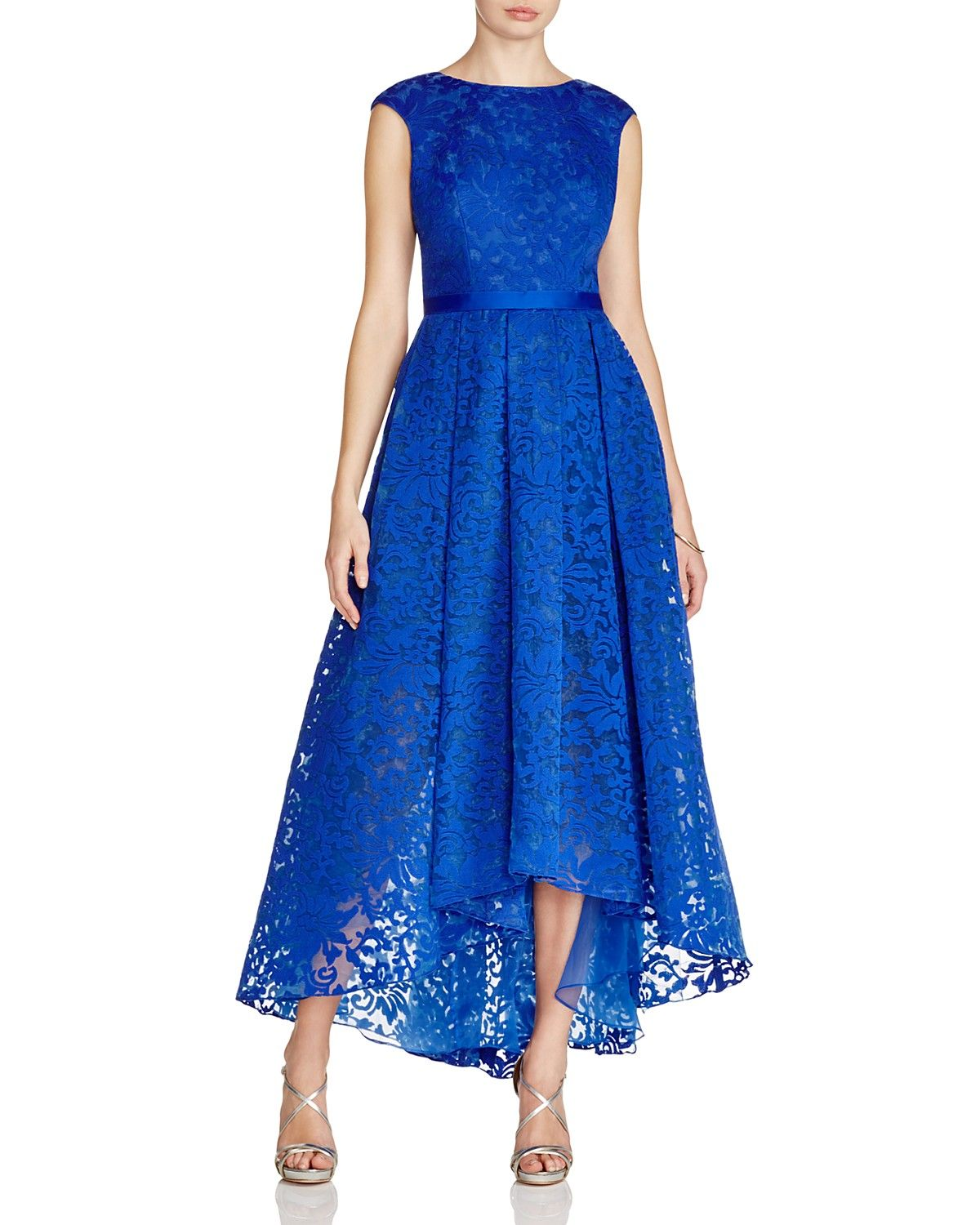 JS Collections Lace High/Low Gown | Dolled Up | Pinterest ...
