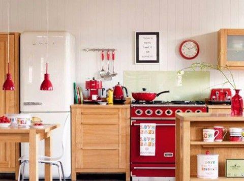 Electrodomésticos retro para una cocina vintage