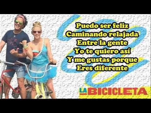 Carlos Vives ft Shakira - La bicicleta (Letra) - YouTube | Music lyrics. Lyrics. Class activities