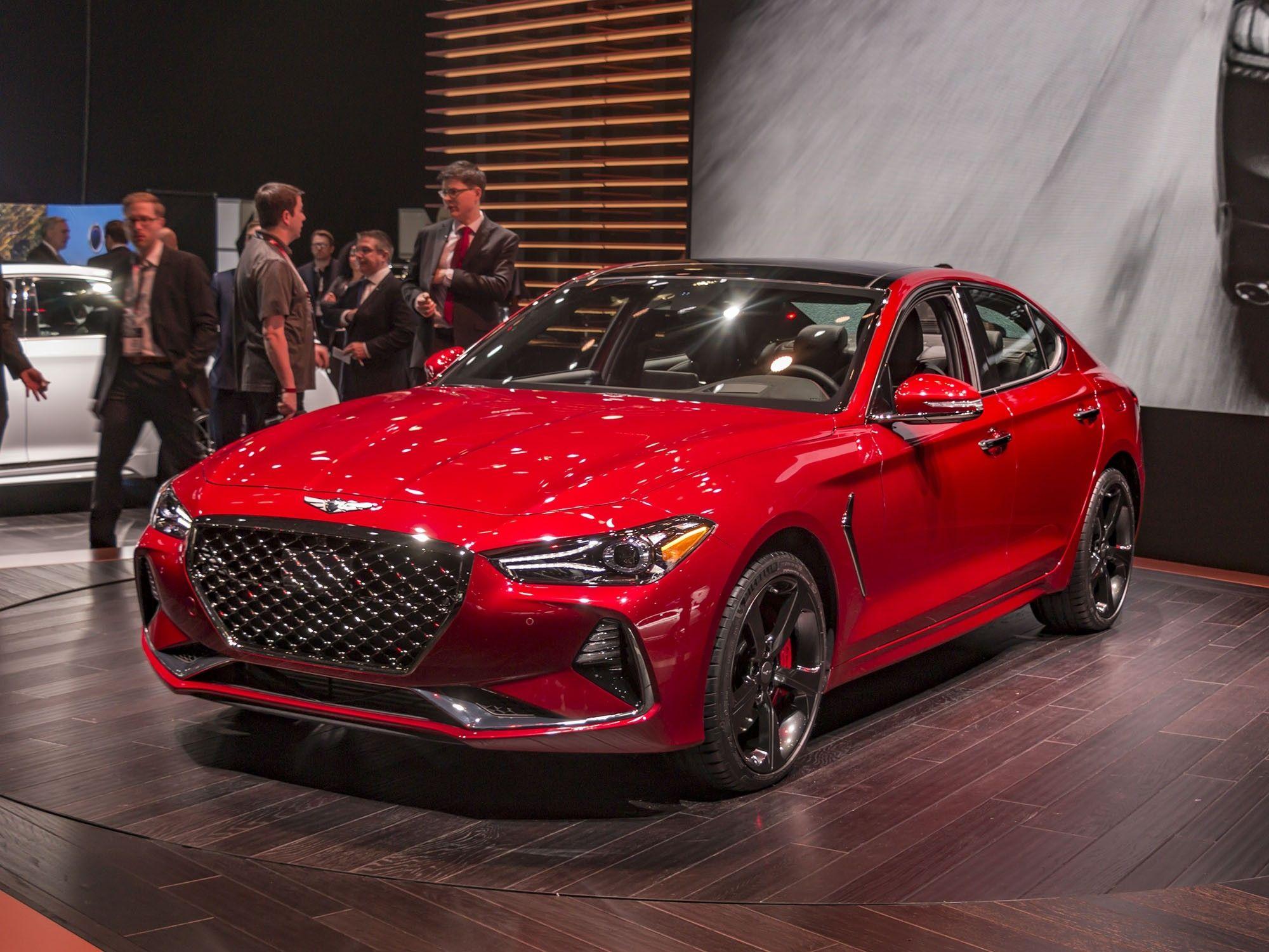 Genesis G70 Luxury Sedan New Cars Car Interior
