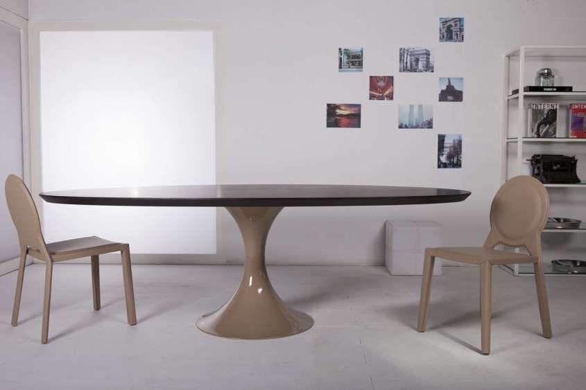 Tavoli ovali   Tavoli da pranzo ovali, Tavolo ovale, Sale ...