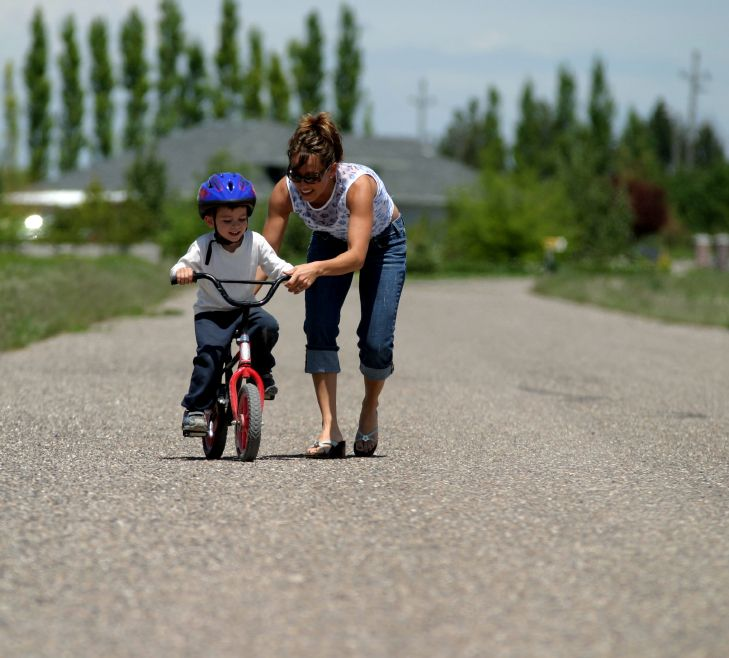 How Learning To Ride A Bike Can Be Easy For Both Of You Todays