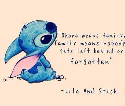 Ohana Significa Familia Familia Significa Que Ninguén Queda Atrás
