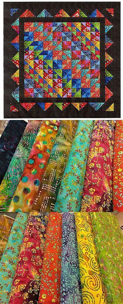 Quilting Kits 19160: Easy Quilt Kit Brilliant Diamonds Batik ... : easy quilt kits - Adamdwight.com