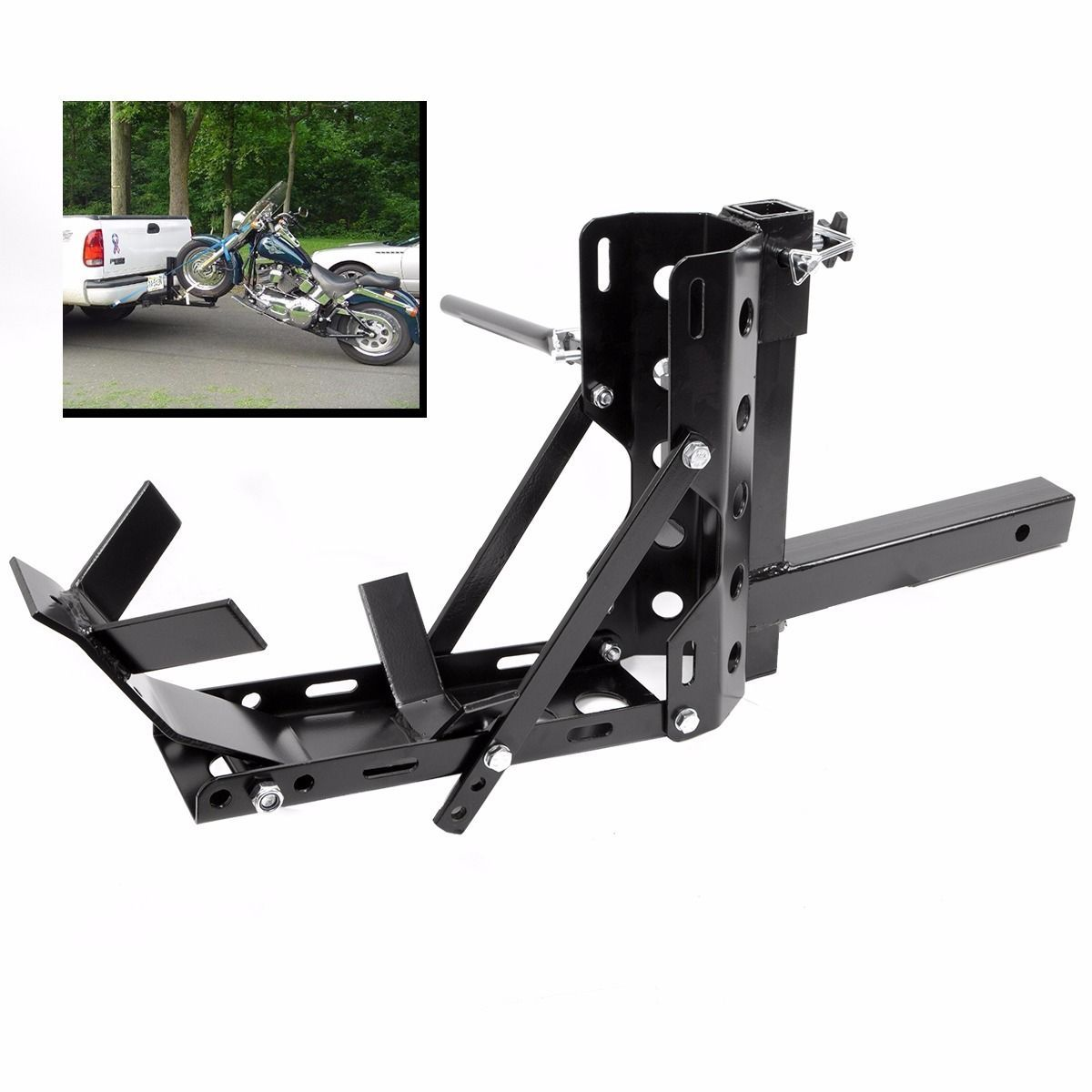 Lightweight & Portable Motorcycle MX Trailer Carrier Tow Dolly ...
