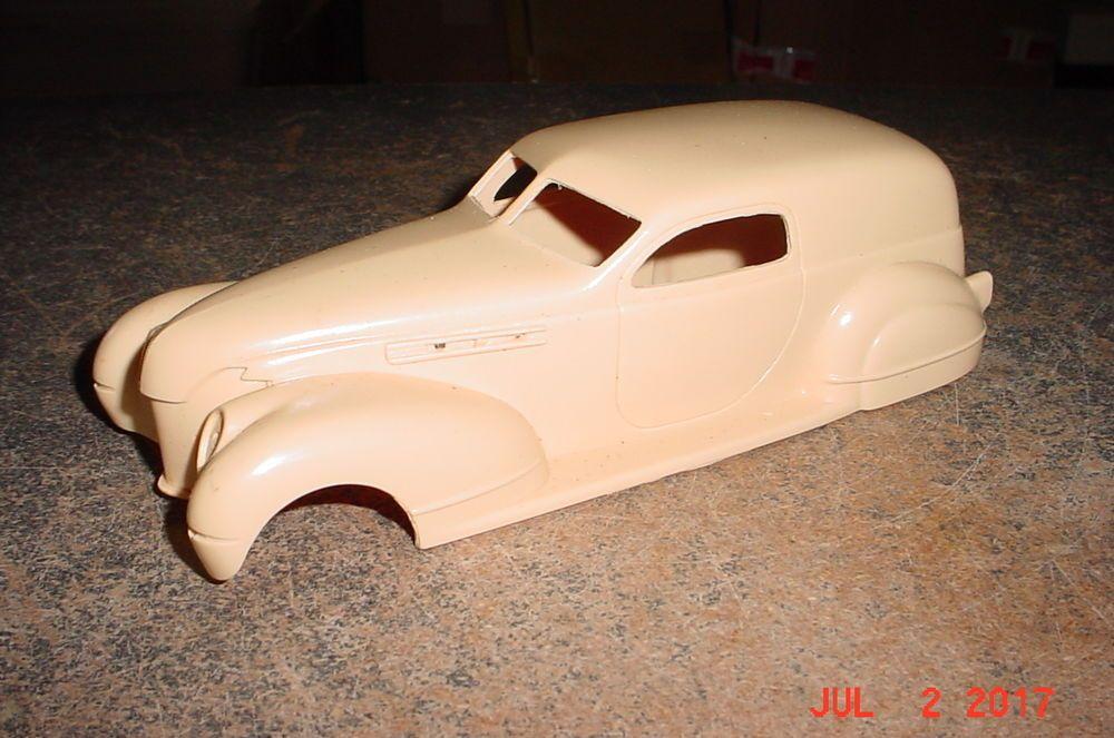 Black Force Sedan Delivery Jimmy Flintstone NB100 RESIN 1/25th #JimmyFlintstone