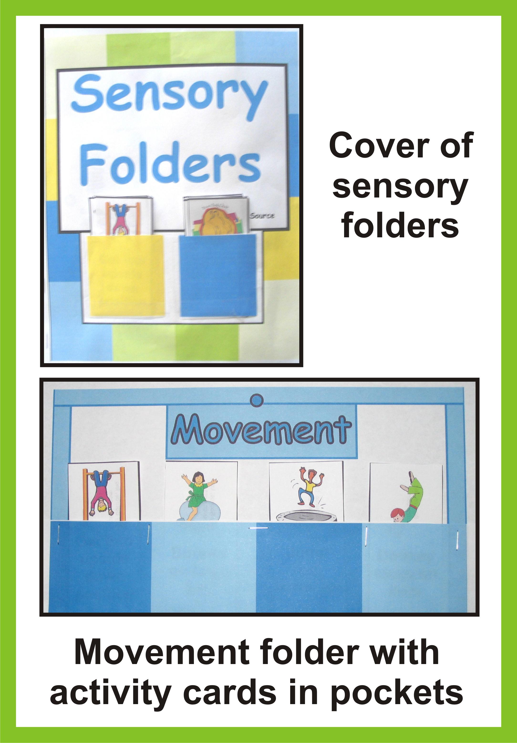 Yourtherapysource Images Sensory Folder Sample