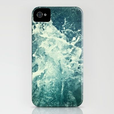 Water IV iPhone Case by Dr. Lukas Brezak - $35.00