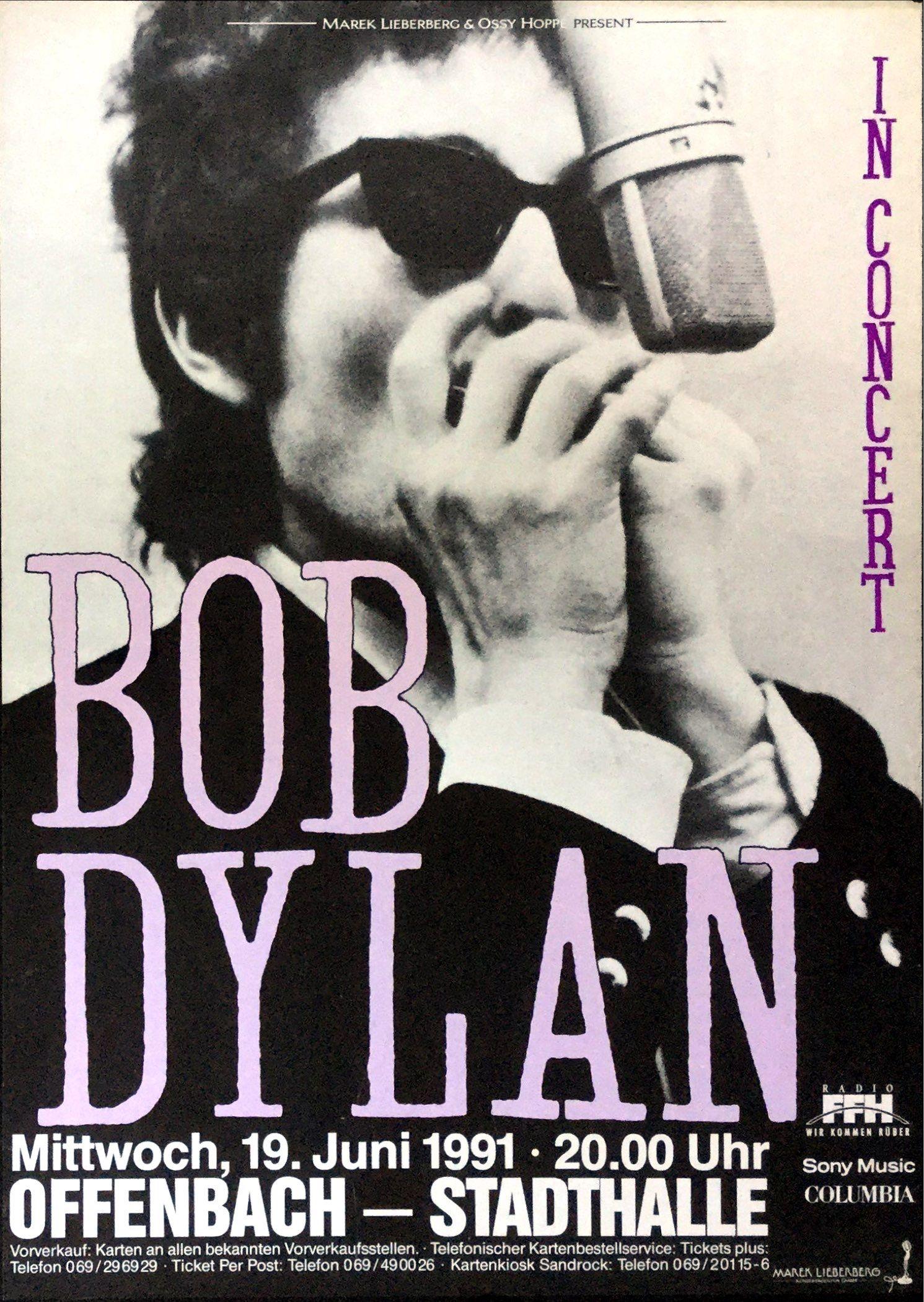 Posters and Concert Memorabilia - Recordmecca | Bob dylan ...