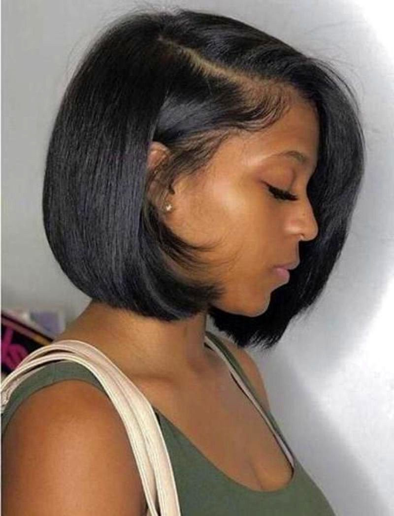 44 Lovely Natural Bob Hairstyles For Black Women 17 Best Inspiration Ideas That You Want In 2020 Thick Hair Styles Hair Styles Short Black Hairstyles