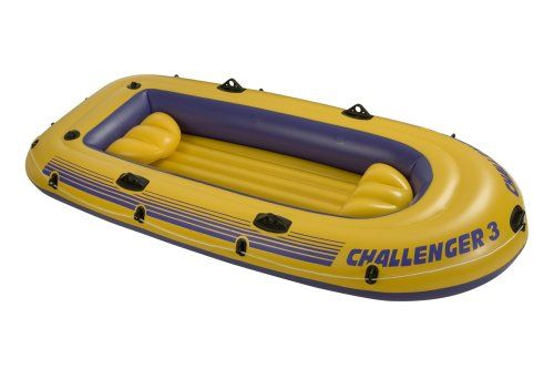 Mount Kit Intex Challenger Boat Set Inflatable Dinghy Oars /& Pump 2//3 Person