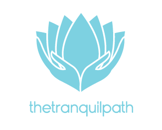 The Tranquil Path By Crooks Design Herbal Logo Massage Logo Grafic Design