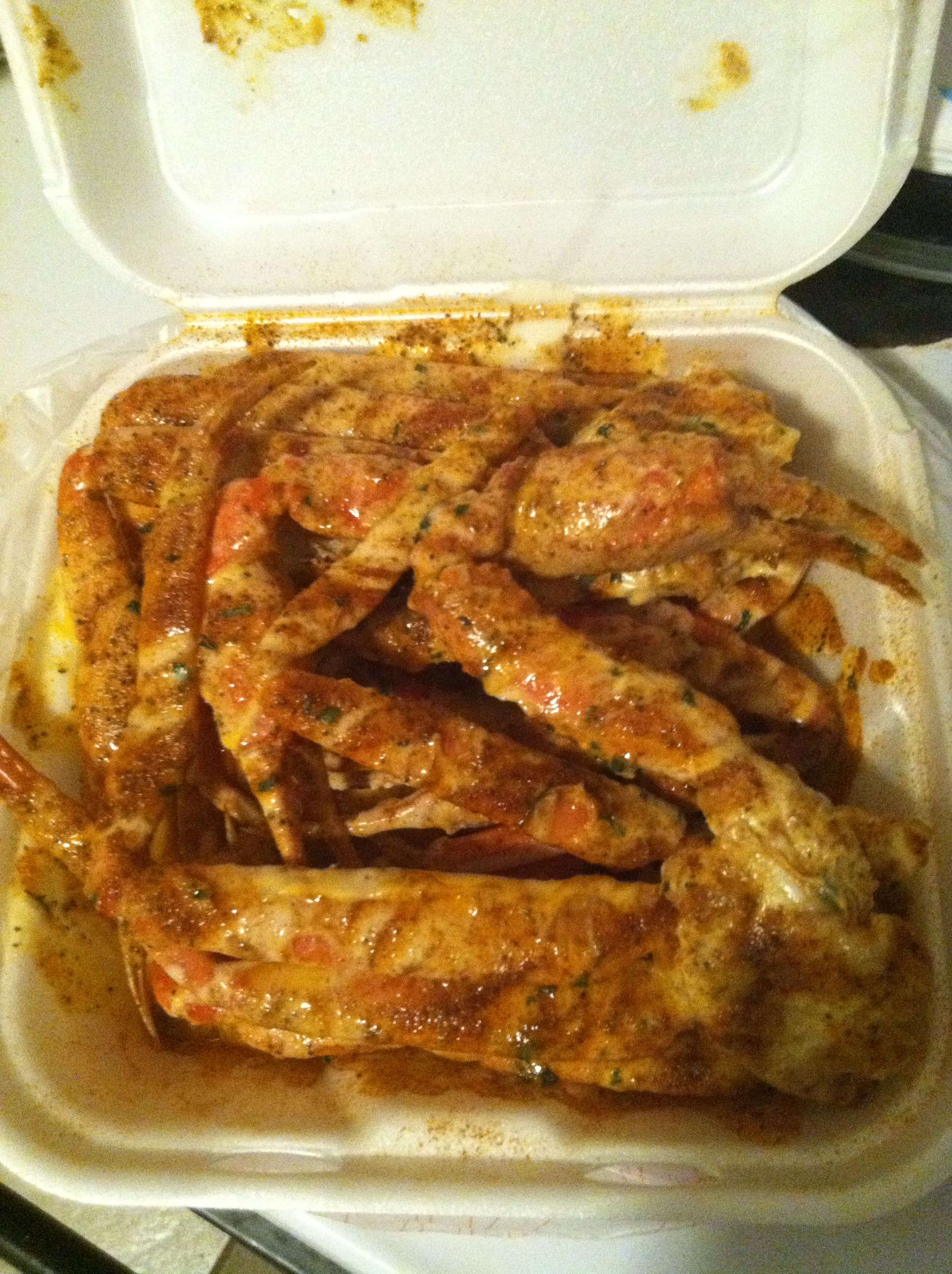 Yara's garlic snow crabs in Jacksonville Florida! | My Favorite