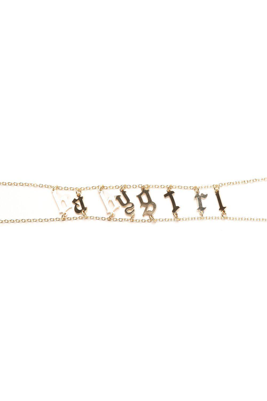 Babygirl old english choker gold accessories pinterest