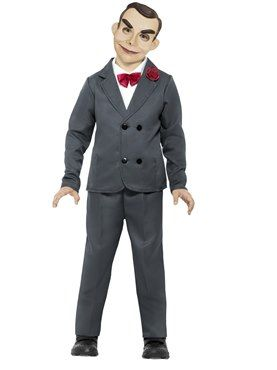 Child Goosebumps Slappy the Dummy Costume by Fancy Dress Ball 7f2ff7c85f8c