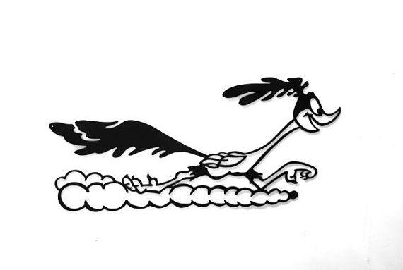 Roadrunner Cartoon Metal Sign by rillabee. Explore more ...
