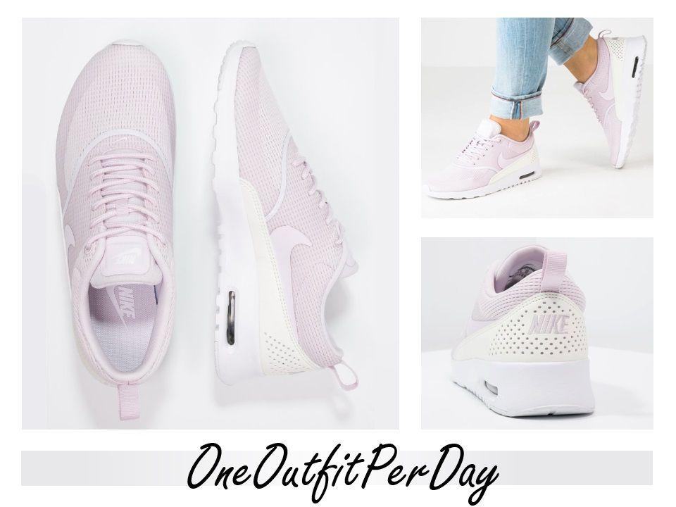 Niedriger Versandverkauf Online Verkauf Nicekicks Nike Sportswear Sneaker Low 'Air Max Thea' mauve / rosa 6fluCyk