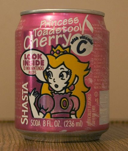 shasta princess toadstool cherry cola