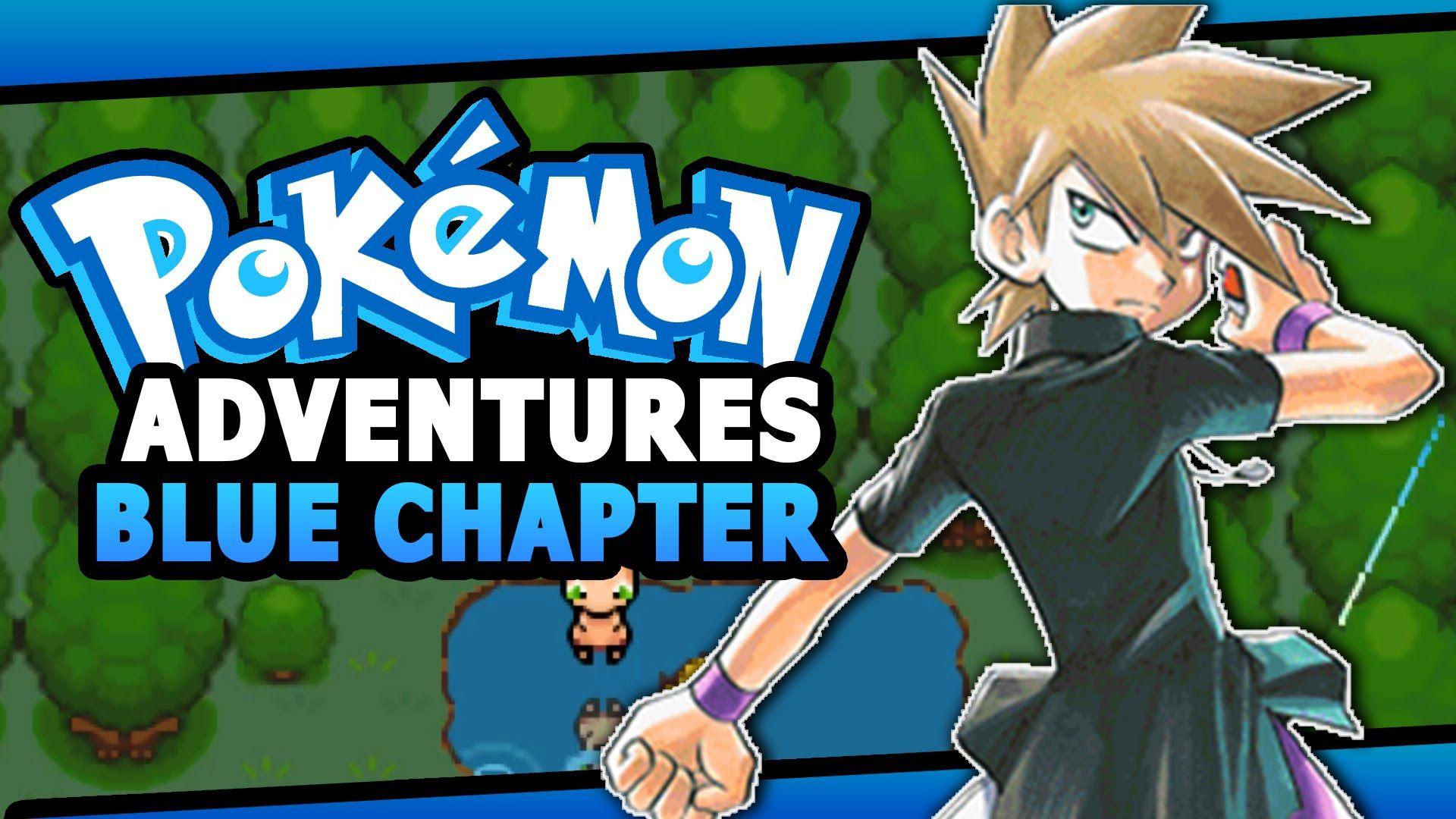 Pokemon Adventures Blue Chapter Pokemon Gba Rom Hack Pokemon Omega