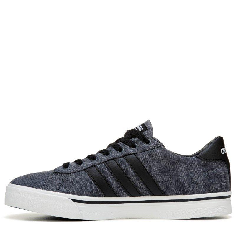 Adidas Men's Neo Cloudfoam Super Daily Sneakers (Grey/Grey ...