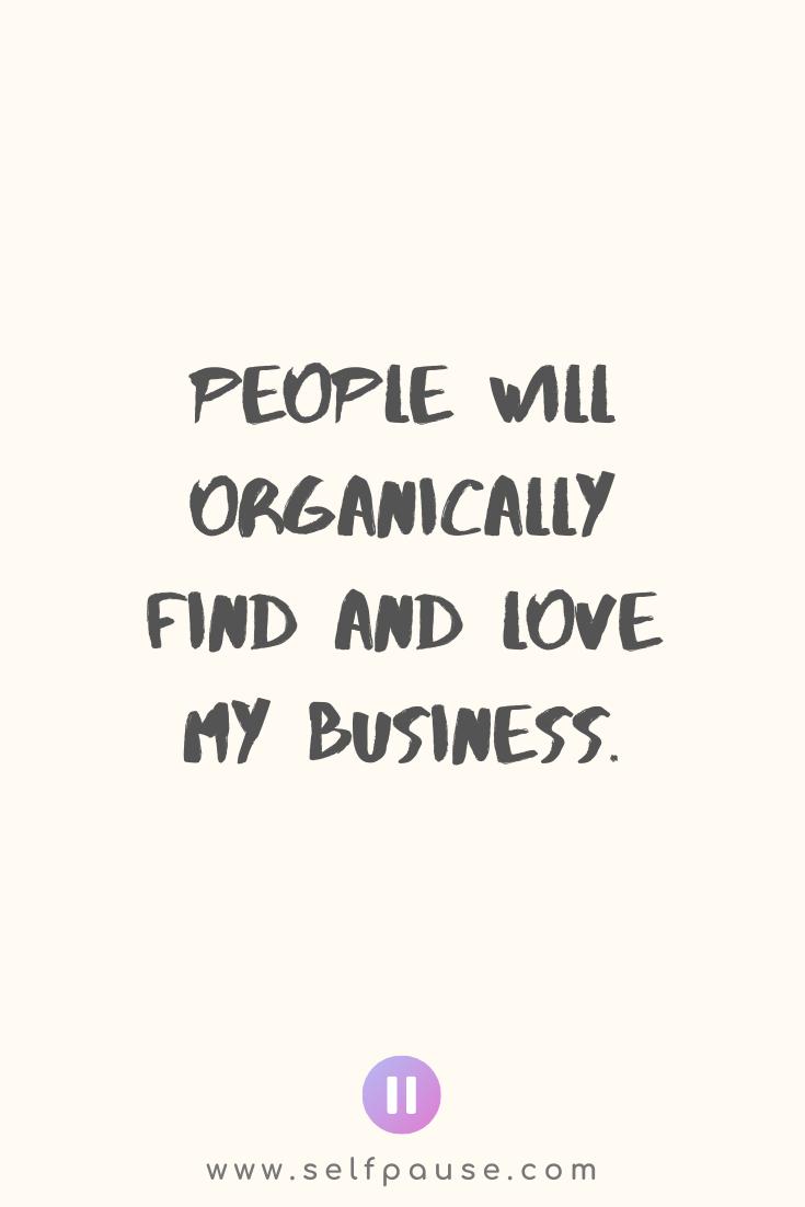 Entrepreneur Affirmations – Selfpause