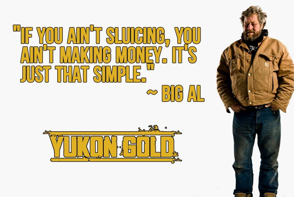 Words to live by from Big Al.
