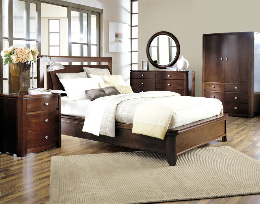 Low Profile Bed Queen Shermag Home Gallery Stores