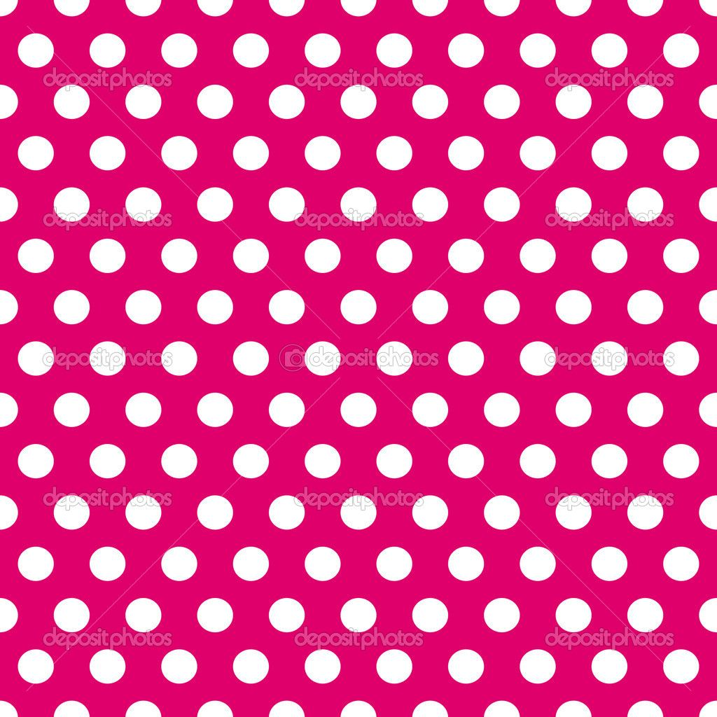 Seamless Pink And White Polka Dots Pattern Stock Vector C Sylvie Polka Dot Pattern Seamless Patterns Polka Dot Background Polka dot template for word