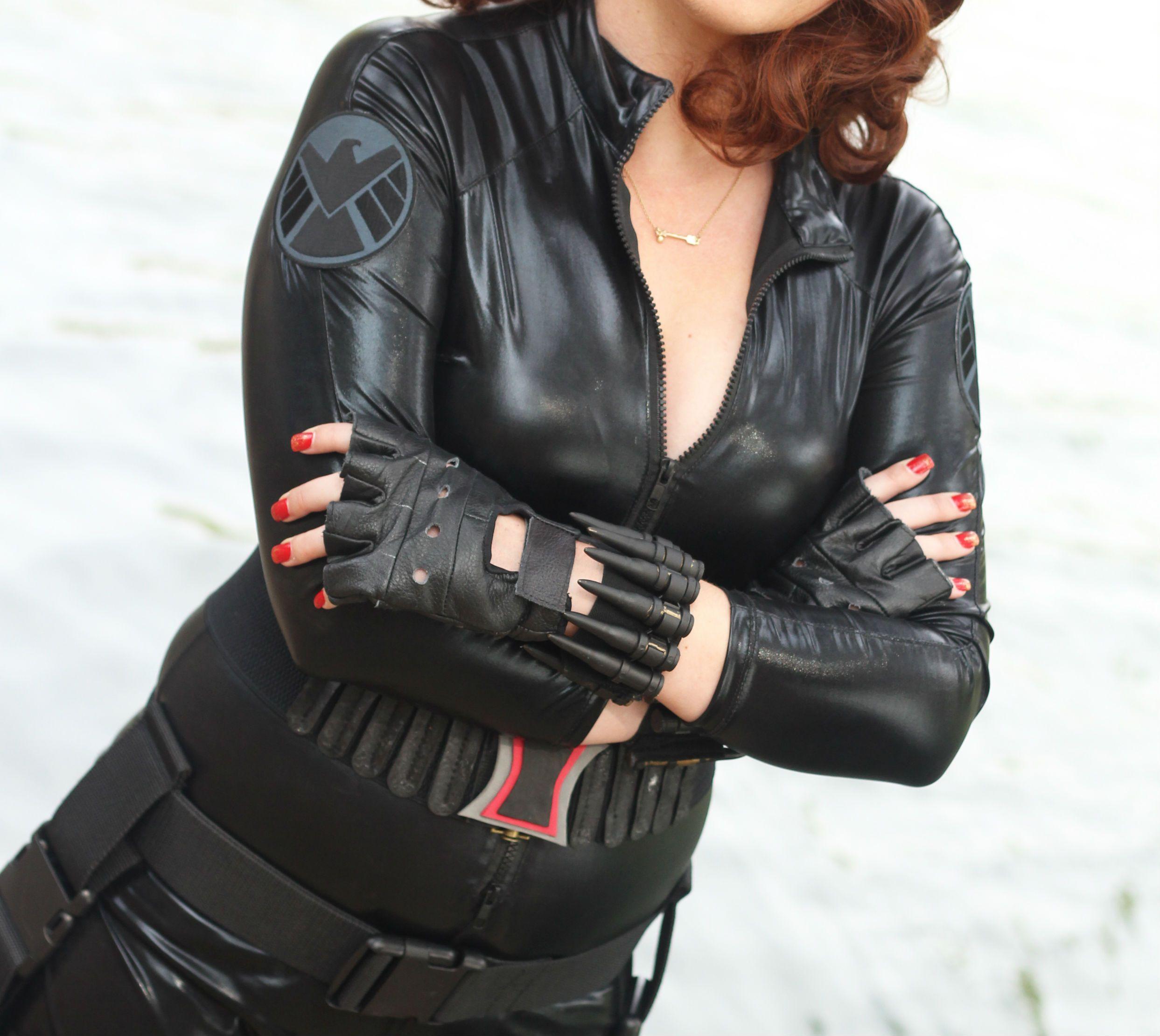 Cosplay howto widows bites black widow costume