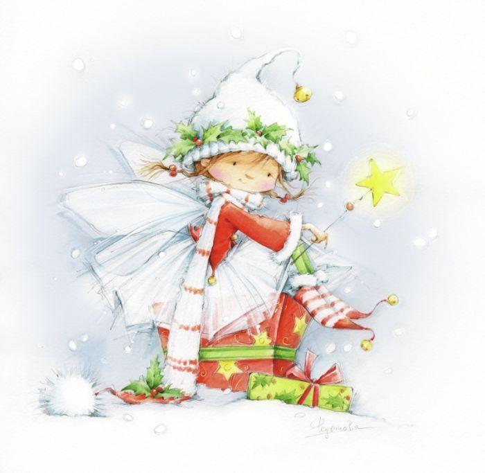 Новогодние картинки с феей, светлане крутые картинки