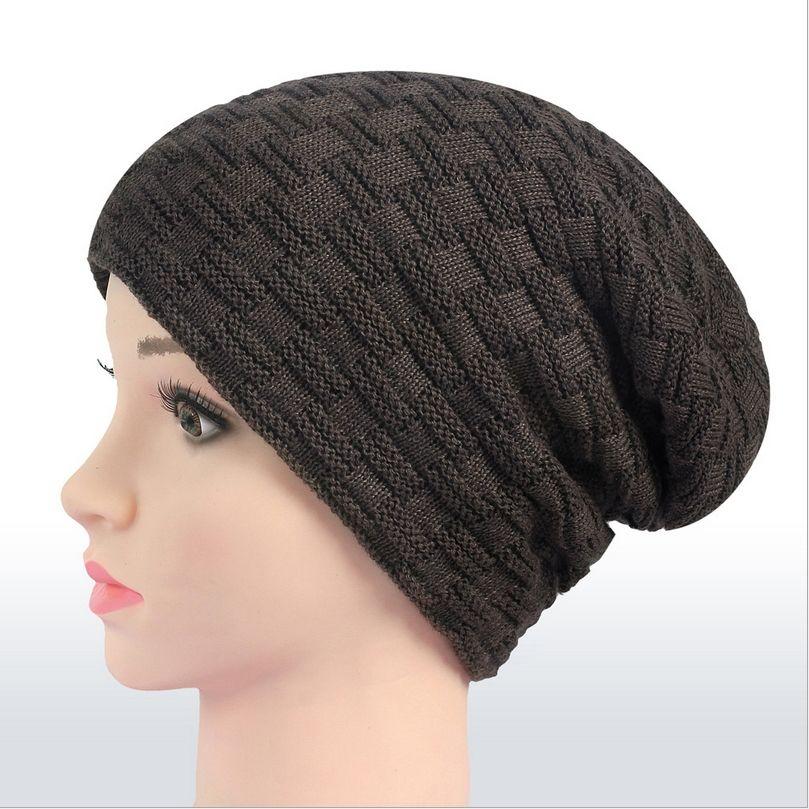 Wool Beanies Knit Men s Winter Hat Caps Skullies Bonnet Winter Hats For Men  Women Beanie Warm 06dfdddf887