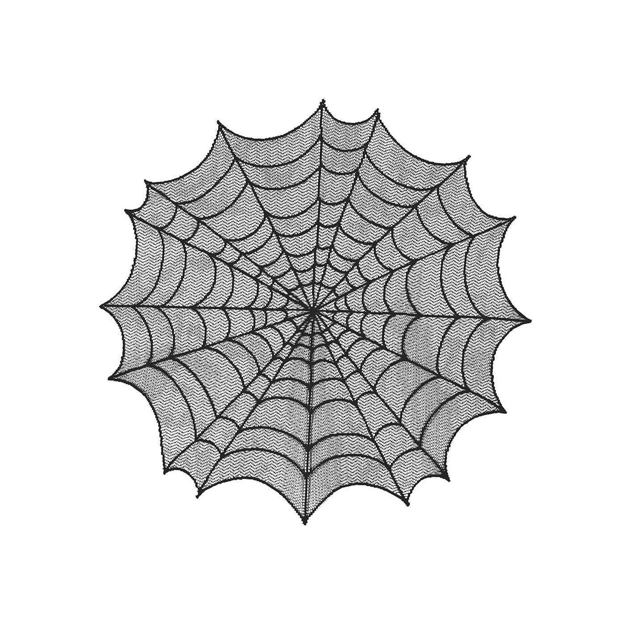 Spider web table topper linens bedrooms and interiors