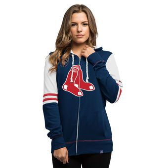 new concept 8b64d ff199 Women's Boston Red Sox Majestic Navy Big Time Attitude Full ...