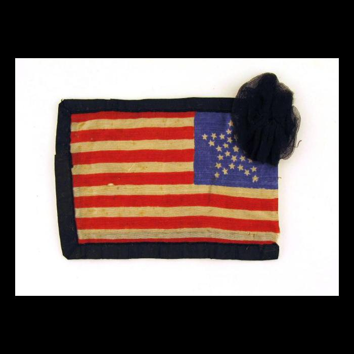 Mourning Flag The Lincoln Financial Foundation Collection Flag Lincoln Financial Small American Flags