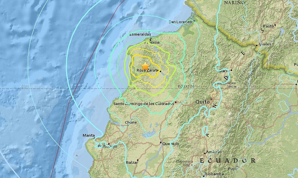 Ecuador struck again with 6.7 magnitude earthquake // @inhabitat