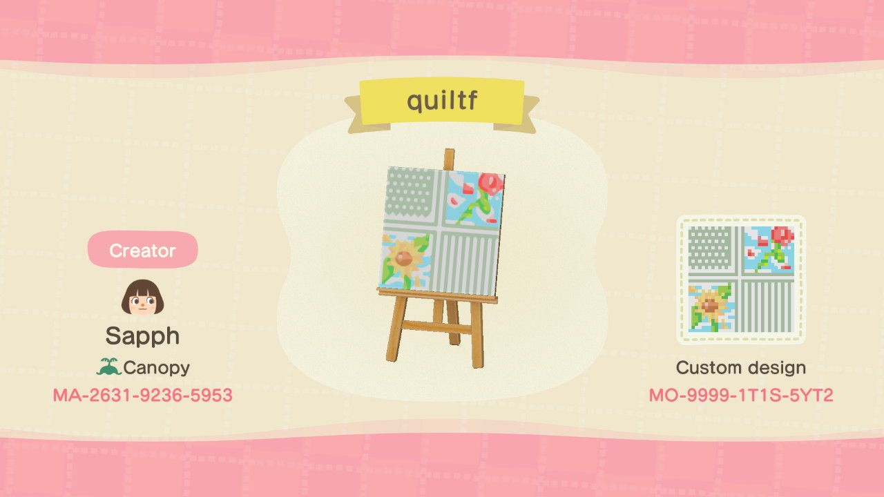 Sapph On Twitter Animal Crossing Quilt Quilt Animal Crossing Animal Crossing Game