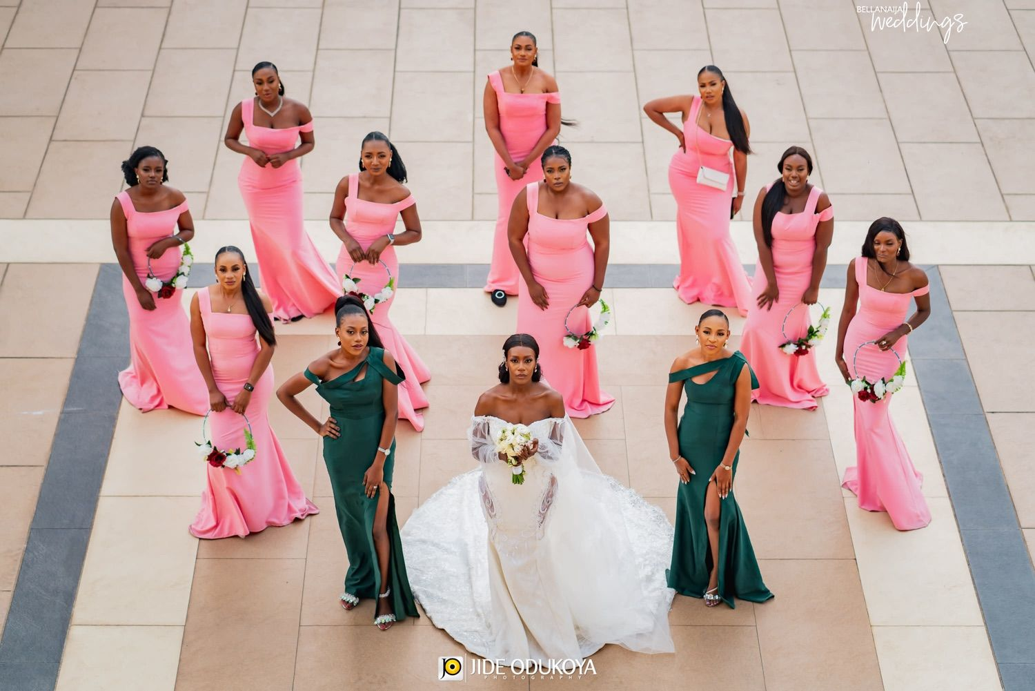Feel All The Love At The Jjunion White Wedding In Lagos In 2020 Beautiful Bridesmaid Dresses White Wedding Event Dresses