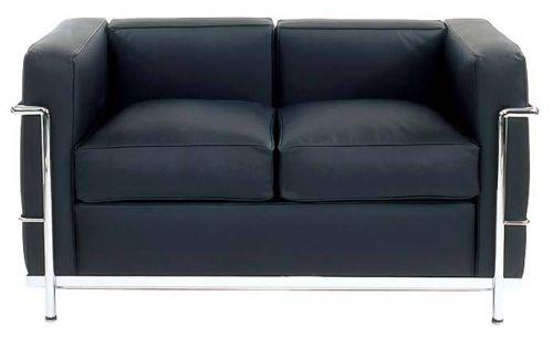 Le Corbusier LC2 Sofa, 2Sitzer (1929) Bauhaus möbel