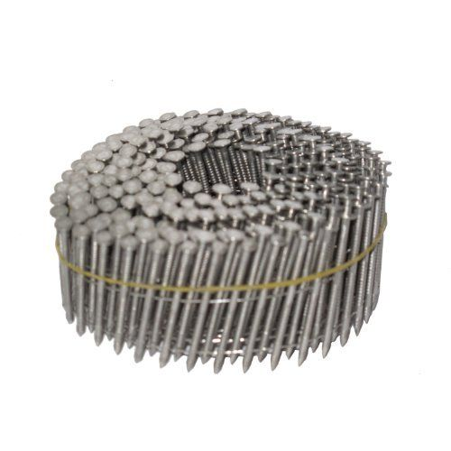 Airtoolsdepot Nailpro 2 1 2 Inch By 0 093 15 Degree Wire Coil Stainless Steel Ring Shank Siding Stainless Steel Rings Stainless Steel Wire Roofing Nails