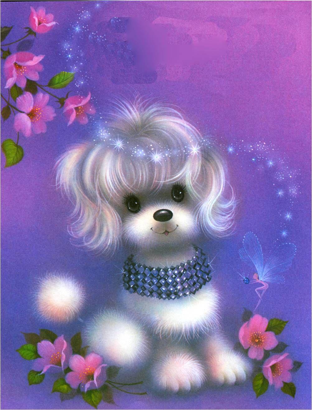 Надписью, картинки анимашки блестяшки красивые с животными