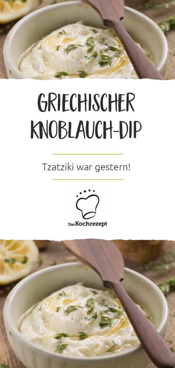 Photo of Griechischer Knoblauch-Dip