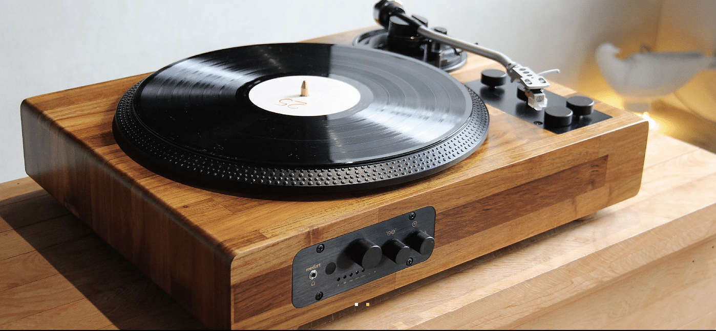 TT8 retro wooden multi-function turntable-based system: crowd-funding soon - The Audiophile Man