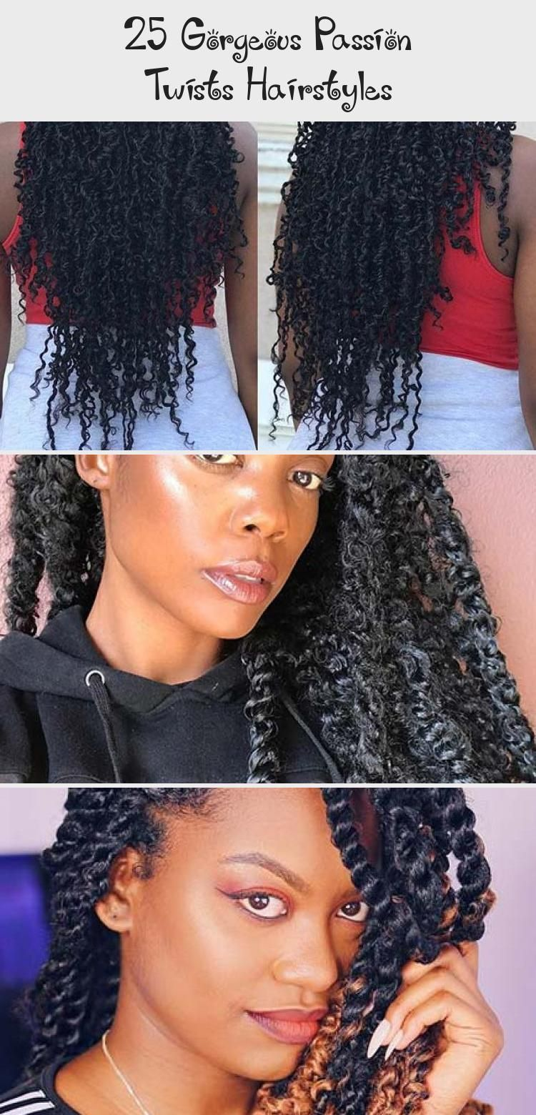 25 Gorgeous Passion Twists Hairstyles #passiontwistshairstylelong