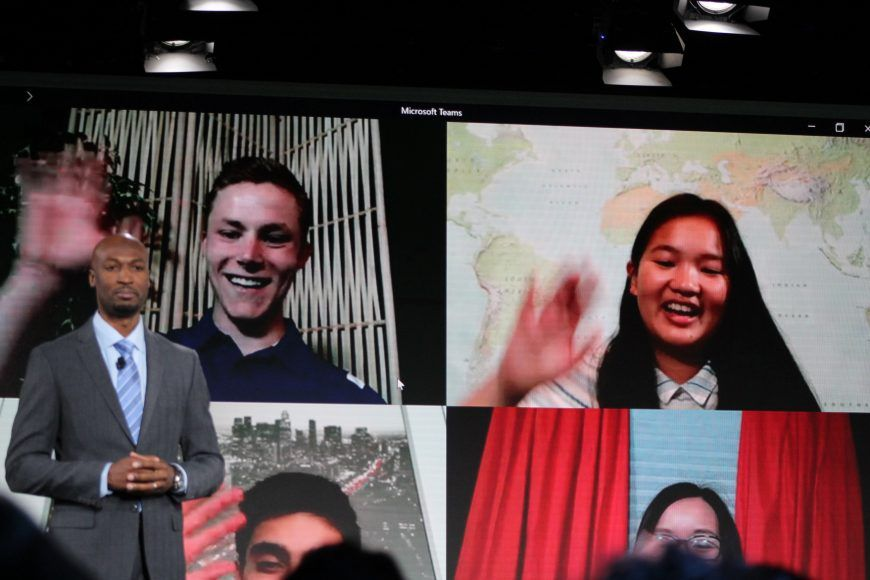 Microsoft Teams updates on Android with video calling
